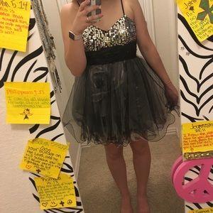 Short homecoming dress!